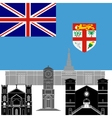 Fiji vector image vector image