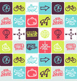 hand drawn icons set - transport 1 vector image