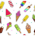 ice cream collection 6 vector image