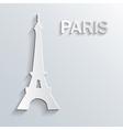 landmark paper symbol vector image vector image
