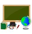 School accesories vector image