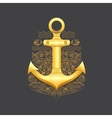 sea anchor vector image vector image