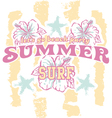 Summer beach party vector image vector image