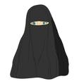 Young Muslim woman vector image vector image