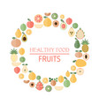 Background with fresh fruits background with