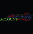 get your low rate merchant account text vector image vector image