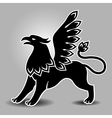 griffin stand vector image