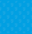 measuring cup pattern seamless blue vector image vector image