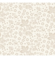 Romantic seamless floral pattern vector image vector image