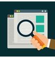 Search Engine Optimization design vector image vector image