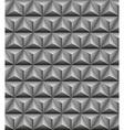 Tripartite pyramid gray seamless texture vector image vector image
