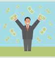 profit concept business vector image