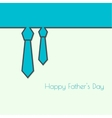 Abstract background with men ties vector image vector image