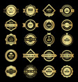 badges collection premium promo high quality vector image