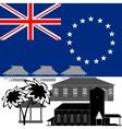 Cook Islands vector image vector image