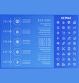 ecology infographic template elements and icons vector image vector image