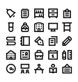 Education School and Learning Icons 3 vector image