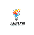 Idea Splash Design vector image vector image