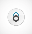 lock icon 2 colored vector image