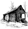 old house vector image vector image