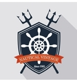 timon ship antique icon vector image vector image