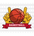 usa basketball sport game vector image
