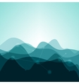 abstract background from waves vector image vector image
