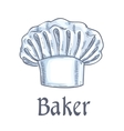 baker hat sketch icon