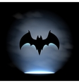 Bat sign vector image vector image