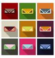 fashion with handbag little bag vector image vector image