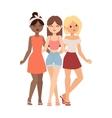 Gossip girls vector image