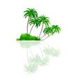 icon palm tree vector image vector image