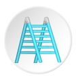 Ladder icon cartoon style vector image vector image