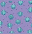 shells background design vector image vector image