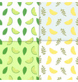 summer background set of simple colorful vector image