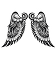 Angel wings vector image vector image