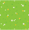 green field seamless texture vector image
