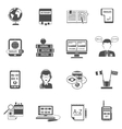 Multilanguage Translator Flat Icon Set vector image vector image