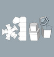 packaging for gifts goods and food vector image vector image