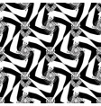 striped black and white abstract greek seamless vector image vector image