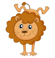 a lion vector image vector image