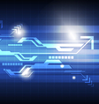 abstract technology concept background vector image vector image