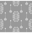 Ethnic tribal ornament seamless pattern vector image