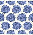 floral chrysanthemum japanese pattern vector image vector image