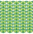 Leaves plant pattern background vector image vector image