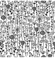 seamless cute pattern of flora vector image vector image