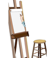 Art workshop vector image vector image