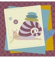 children animals funny patchwork vector image vector image