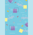 memphis minimal design decoration 80s 90s style vector image vector image