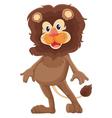 Mr lion vector image